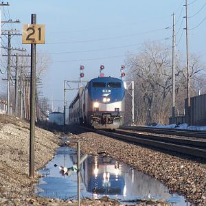 A reflection on Amtrak