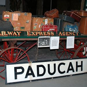 Photos from the Rail Museum at Paducah, KY