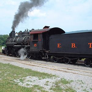East Broad Top Railroad #15