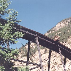Georgetown Loop RR Trestle