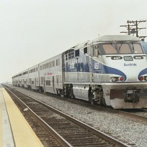 Surfliner Unit 457 is SLO Bound
