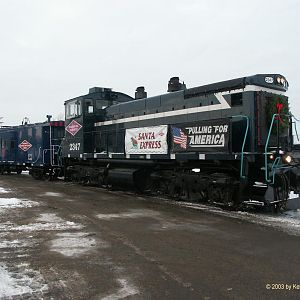 Progressive Rail Santa Express