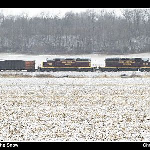 Ohio Central in the Snow