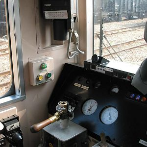 Cab of Diesel Rail Car DR1000