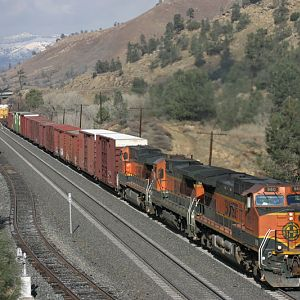 Tehachapi, three H1's at Woodford