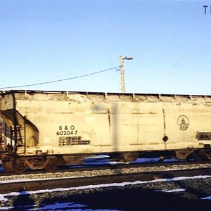 B&O Grain Hopper