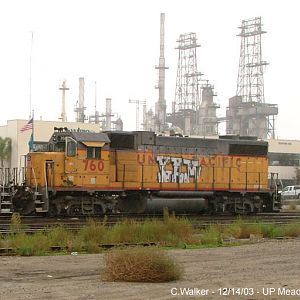 UP 760 - Mead Yard, Long Beach, CA