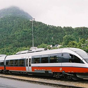 BM93 at ndalsnes station, Norway