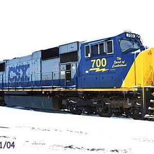 CSX 700 Spirit of Cumberland