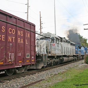 CSX #5961 Northbound Troy Ohio