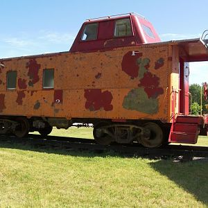 A2 Caboose at Spring Lake
