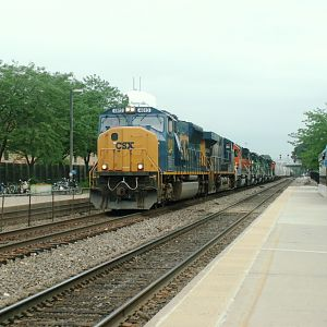 Hmmm....  CSX must have gotten a lot of use out of BNSF Pay-Back Power
