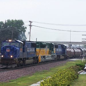 UP 2002, UP 1995 and UP 2001 on M-PRCB at Rochelle