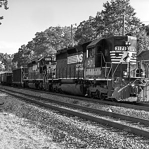 Out Of Fuel On The NS CofGa Alabama Main