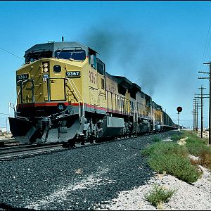 UP coal train at Arden,NV.