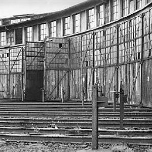 Roundhouse_exterior_Hof_W_Germany_1974
