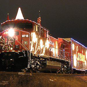 cp christmas train calgary