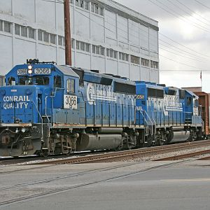 B-1-G backs into Ameriwood siding in Dowagiac, MI