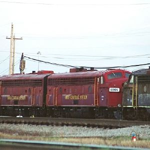 Ohio Central Units waiting at CSXs Yard for the ACWR