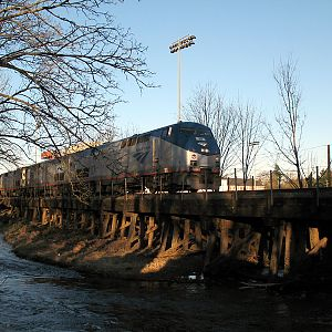 Coast Starlight over Mill Creek, Salem