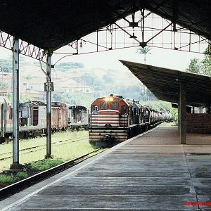 Locomotives in Mayrink 85