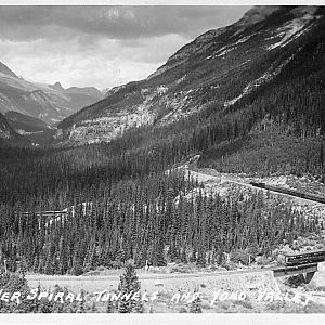 Lower Spiral Tunnels and Yoho Valley