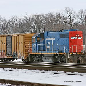 GTW 4902 Botsford Yard in Kalamazoo