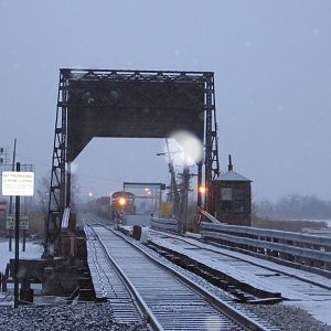 early morning Intermodal at Ridgefield Park