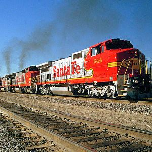 Santa Fe Super Fleet on the move