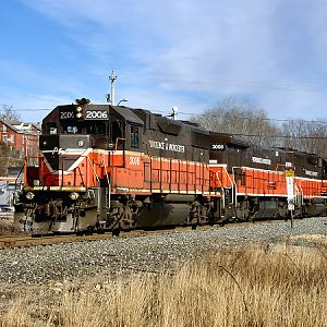 PRWO-X Coal Extra at Lonsdale Yard Limits