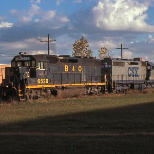B&O GP40 - CSX SD35 - and?