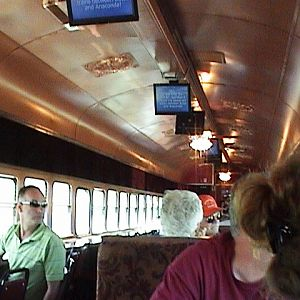 Inside the Copper King Express