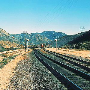 Southern Pacific Climbs the Cutoff