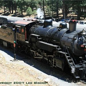 Train time at the Grand Canyon