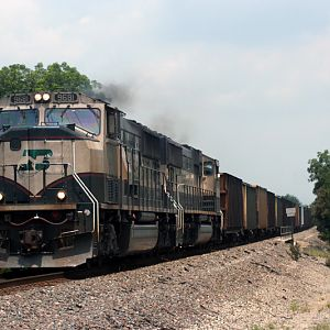 UNPATCHED BN coal train