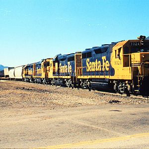 Santa Fe Blue and Yellow through Devore