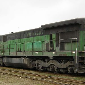 GE C30-7 #9227 Brasilferrovias (photo 2)