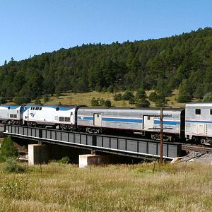 AMTRAK Southwest Chief Raton Pass