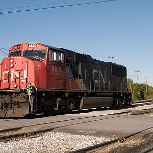 CN 5630 in light power move