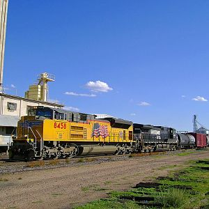 Passing Through Greeley....