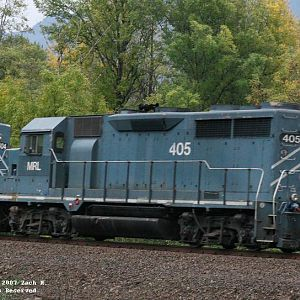MRL GP35's headed west on the PASTAC at St. Cloud Rd.