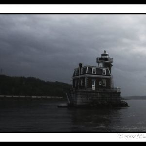 Storm on the Hudson River
