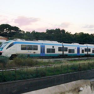 Sunset Train from Marsala
