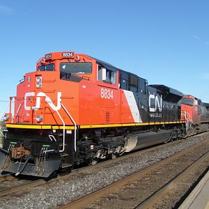 Canadian National SD70M-2 8834