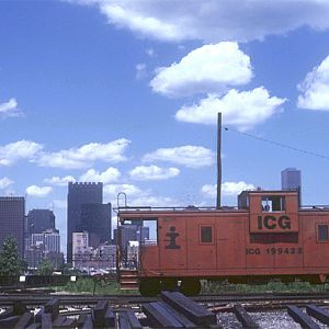 ICG #199422, Chicago, IL, July 6, 1984, photo by Chuck Zeiler
