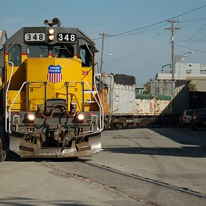 San Francisco's Only Freight Train