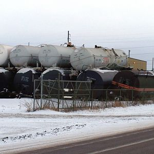 Tanker warehousing