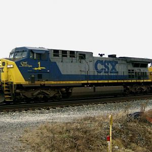 CSX 1 - My first rail photo of the year!