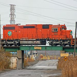 EJ&E #662 SD38-2 Pine Junction