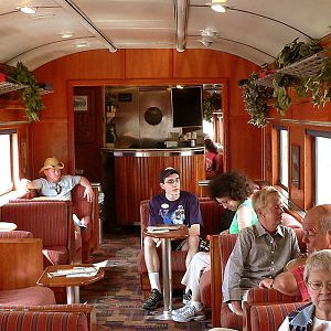 Interior of GCR 255 The Chief